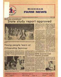 Michigan Farm News : Number 7, 1975 by Michigan State University