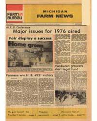 Michigan Farm News : Volume 54, Number 9 by Michigan State University