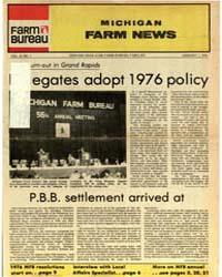 Michigan Farm News : Volume 55, Number 1 by Michigan State University