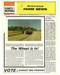 Michigan Farm News : Volume 55, Number 8 by Michigan State University