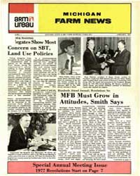 Michigan Farm News : Number 1, 1977 by Michigan State University