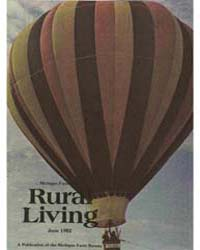 Rural Living : Volume 61, Number 6, 1982... by Michigan State University