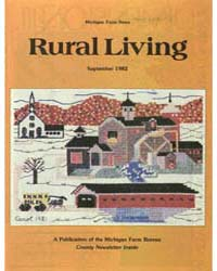 Rural Living : Volume 61, Number 9, 1982... by Michigan State University