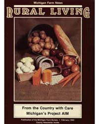 Rural Living : Volume 62, Number 2, 1983... by Michigan State University