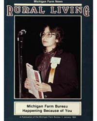 Rural Living : Volume 63, Number 1, 1984... by Michigan State University