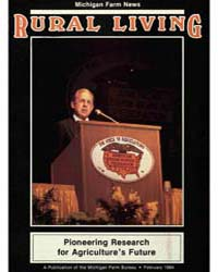 Rural Living : Volume 63, Number 2, 1984... by Michigan State University