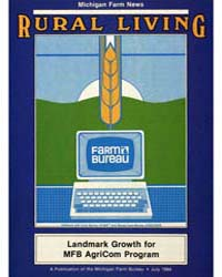 Rural Living : Volume 63, Number 7, 1984... by Michigan State University