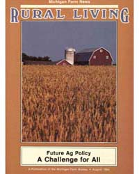Rural Living : Volume 63, Number 8, 1984... by Michigan State University