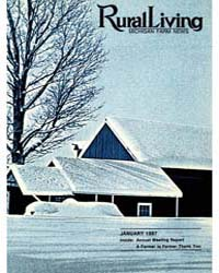 Rural Living : Volume 64, Number 1, 1987... by Michigan State University