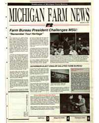 Michigan Farm News, Document 1990-12 by Jack Laurie