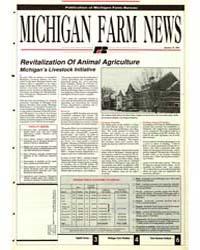 Michigan Farm News : Number 115, 1991 by Michigan State University