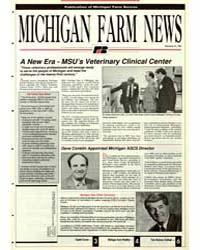 Michigan Farm News : Number 215, 1991 by Michigan State University