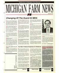Michigan Farm News : Number 226, 1991 by Michigan State University