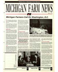 Michigan Farm News : Number 315, 1991 by Michigan State University