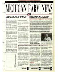 Michigan Farm News : Number 430, 1991 by Michigan State University