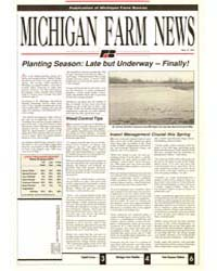 Michigan Farm News : Number 515, 1991 by Michigan State University