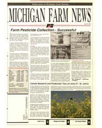 Michigan Farm News, Document 1991-615 by Jack Laurie