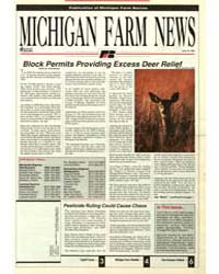 Michigan Farm News, Document 1991-715 by Jack Laurie