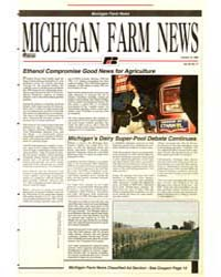 Michigan Farm News : Number 17, 1992-101... by Michigan State University