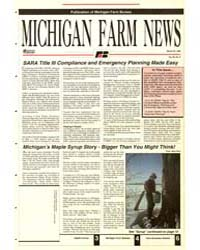 Michigan Farm News : Number 6, 1992-330 by Michigan State University