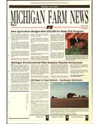 Michigan Farm News : Number 13, 1992-815 by Michigan State University
