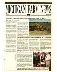 Michigan Farm News : Number 15, 1992-915 by Michigan State University