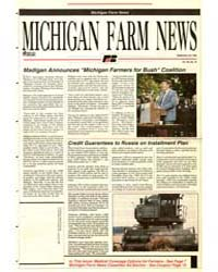 Michigan Farm News : Number 16, Document... by Jack Laurie