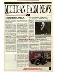 Michigan Farm News : Number 4, 1993-228 by Michigan State University
