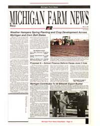 Michigan Farm News : Number 9, 1993-515 by Michigan State University