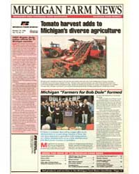 Michigan Farm News : Tomato Harvest Adds... by Michigan State University