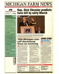 Michigan Farm News : Rep. Dick Chrysler ... by Jack Laurie