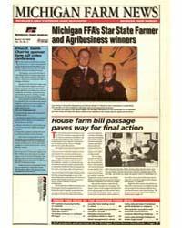 Michigan Farm News : Michigan Ffa's Star... by Michigan State University