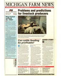 Michigan Farm News : Problems and Predic... by Jack Laurie