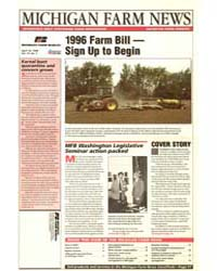 Michigan Farm News : 1996 Farm Billsign ... by Michigan State University