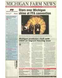 Michigan Farm News : Star Over Michigan ... by Michigan State University