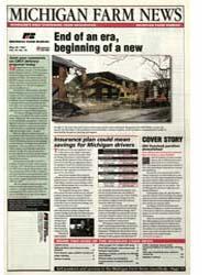 Michigan Farm News : End of an Era, Begi... by Jack Laurie