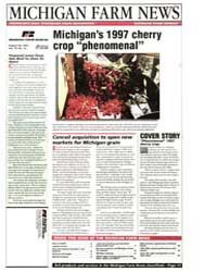 Michigan Farm News : Michigan's 1997 Che... by Michigan State University