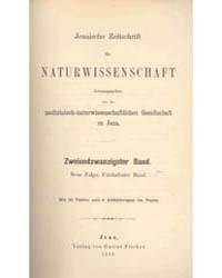 Jenaische Zeitshrift Fur Naturwissenscha... by Rudolf Aderhold