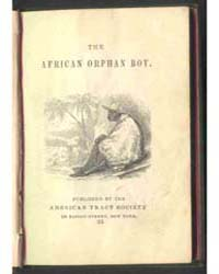 The African Orphan Boy, Document Afrb by Michigan State University