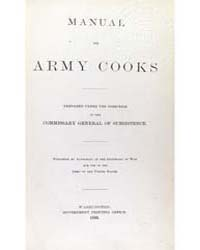 Manual for Army Cooks, Document Army by Michigan State University