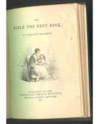 The Bible the Best Book, Document Bibl by Charlotte Elizabeth