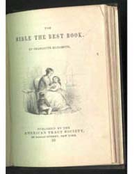 The Bible the Best Book, Document Bibleb... by Charlotte Elizabeth