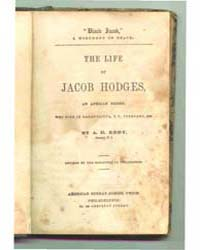 The Life of Jacob Hodges, Document Blac by Eddy, A.D.