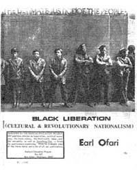 Black Liberation, Document Blackliberati... by Earl Ofari