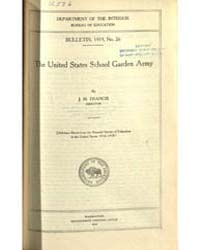The United States School Garden Army, Do... by J. H. Francis