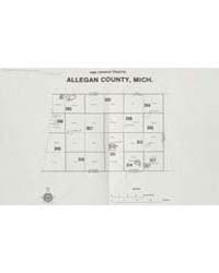 1980 Census Tracts Allegan County, Mich.... by Michigan State University