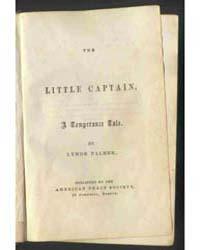 The Little Captain, Document Capt by Lynde Palmer