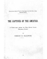 The Captives of the Amistad, Document Ca... by Simeon E. Baldwin