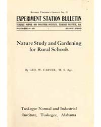 Nature Study and Gardening for Rural Sch... by Geo. W. Carver