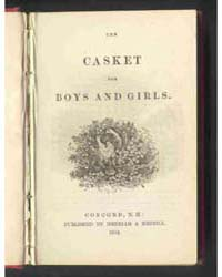 The Casket for Boys and Girls, Document ... by Michigan State University